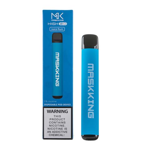 Одноразовая электронная сигарета MASKKING High 2.0 Juice Rum (Ром, Сок)