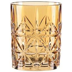 Оранжевый хрустальный стакан для виски Highland, 345 мл, фото 2