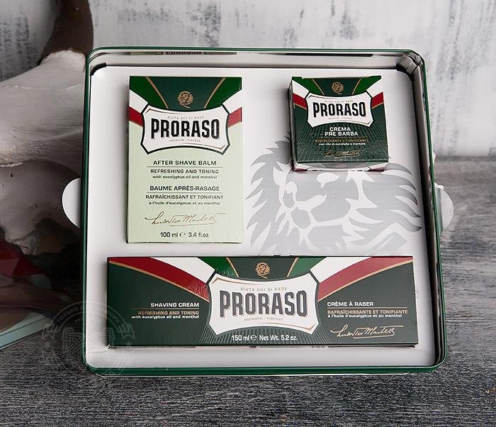 RAZ400359 Подарочный набор PRORASO VINTAGE SELECTION GINO фото 04