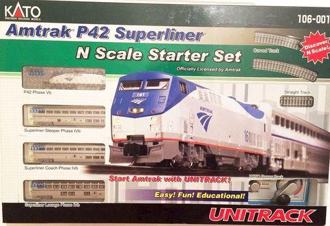 Стартовый набор Kato Amtrak Superliner Phase IVB