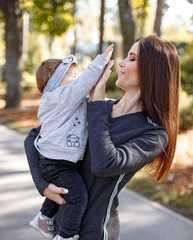 Костюм для беременных и кормящих с начесом цвет антрацит