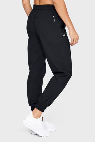 Женские черные спортивные брюки Recover Woven Pants Under Armour