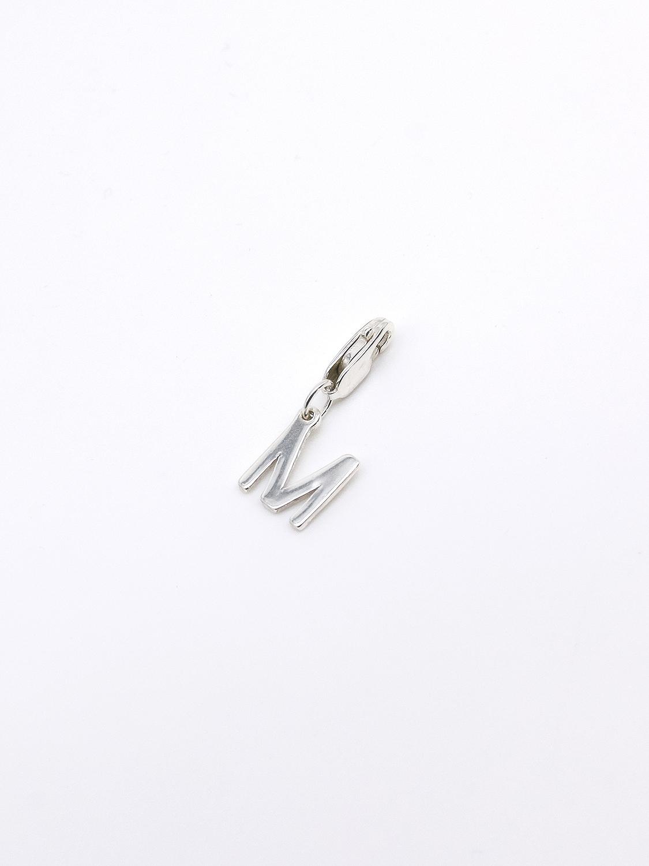 Подвеска из серебра буква М  оптом и в розницу