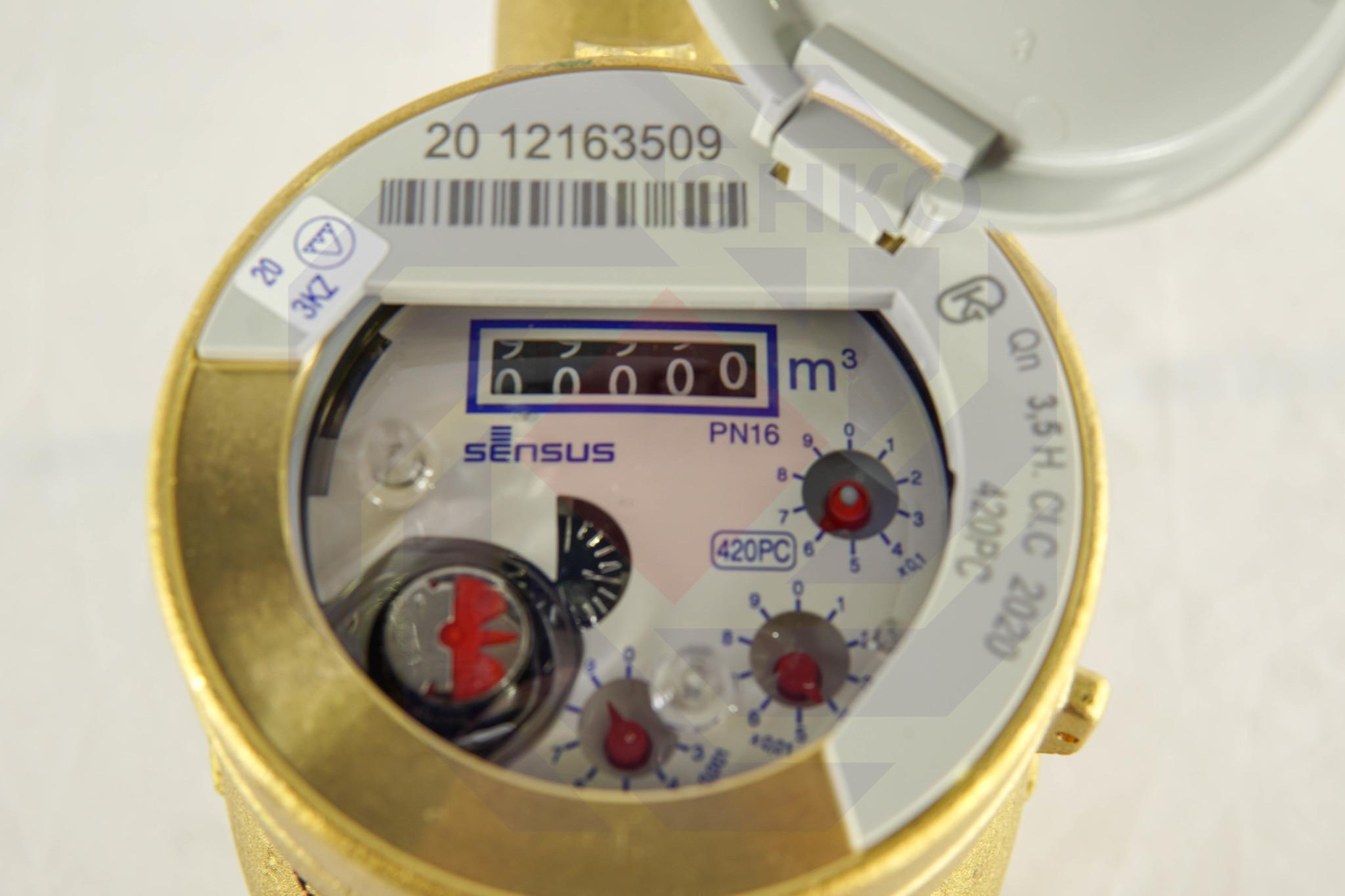 Счетчик холодной воды SENSUS 420PC DN 25