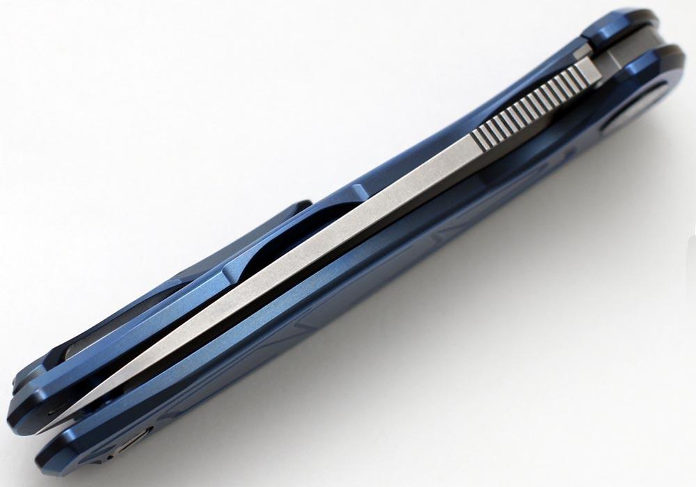 Нож Широгоров Флиппер 95 S30V скрепка - фотография