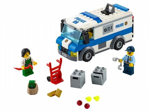 LEGO City: Инкассаторская машина 60142 — Money Transporter — Лего Сити Город