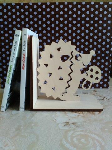 Держатели для книг ДекорКоми из дерева