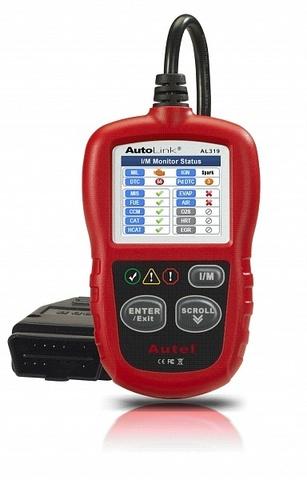Автосканер Autel Autolink AL319