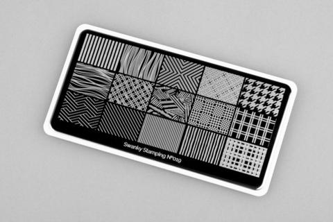 Пластина Swanky Stamping №019