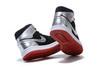 Air Jordan 1 Mid 'Black'Metallic Silver'