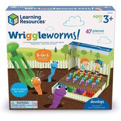 Развивающая игрушка Непослушные червячки (47 элементов), арт. LER5552