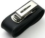 Чехол Victorinox для 91мм толщина 2-4 ур кожа поворот черный (4.0520.31)