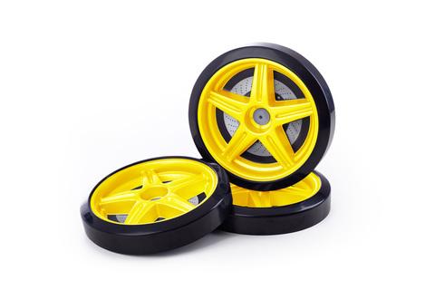 Объемные пластиковые колеса для серии EVO