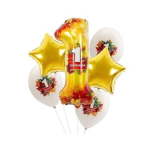 Букет шаров на 1 сентября