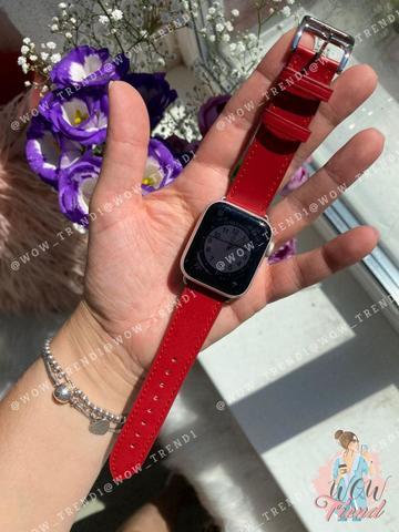 Ремешок Apple watch 38mm Hermès New Leather /red/