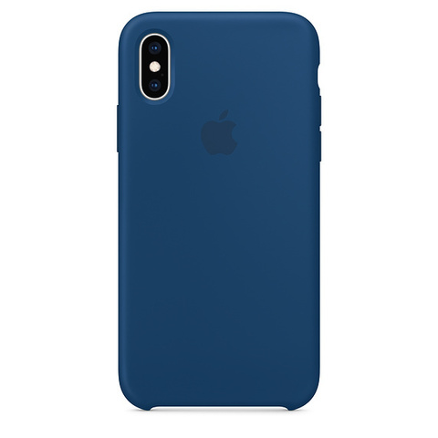 Чехол IPX/XS Silicone Case Blue Horizon