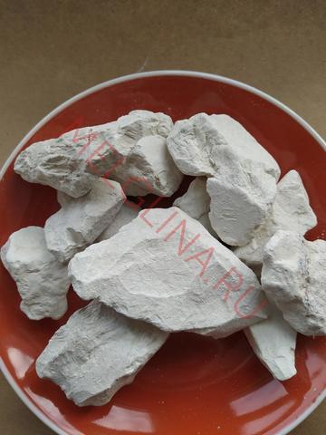 Глина Астана 2 белая нечищенная