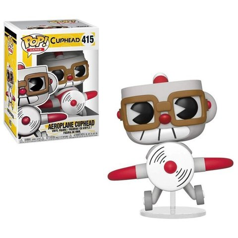 Фигурка Funko POP! Cuphead - Капхед в аэроплане 34475
