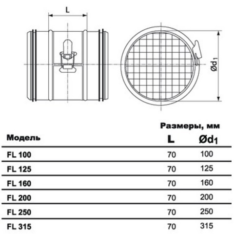 FL d 125 ультракомпактный фильтр