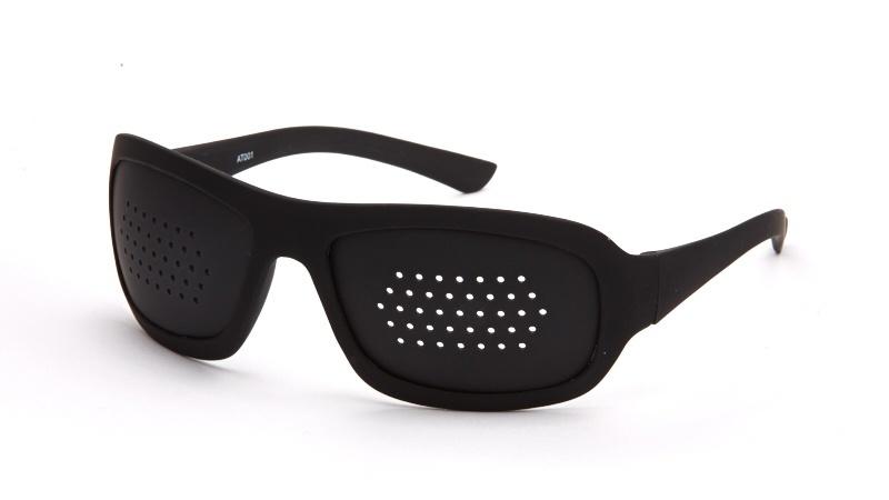 Очки-тренажёры перфорационные взрослые пластик
