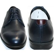 Туфли синие мужские Икос 3360-4.