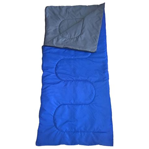 Спальный мешок «СО150», размер 180х73 см, +10/+25 °С, цвет синий