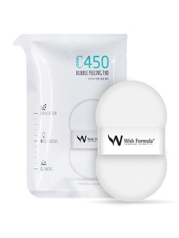 Пилинг пэд для тела C450 Bubble Peeling Pad Wish Formula