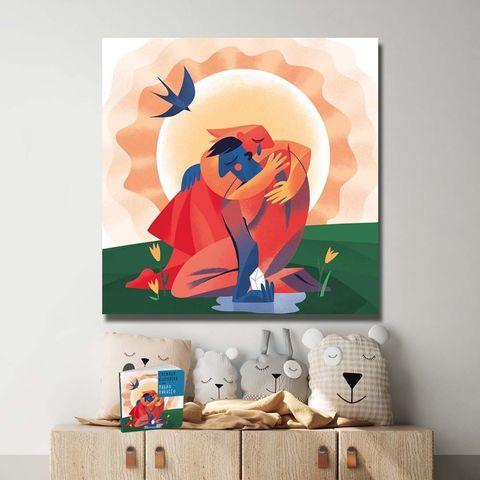 Картина «Любовь растопила лед»
