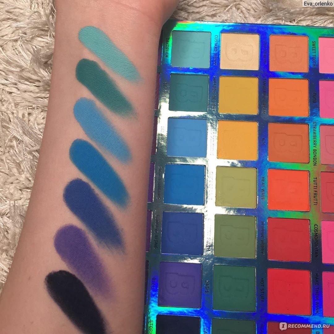 BEAUTY BAY EYN Bright Matte 42 Colour Palette