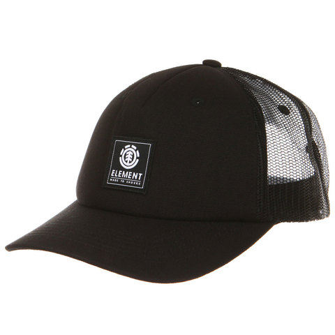 Кепка Element ICON MESH CAP ALL BLACK