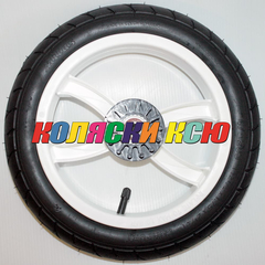 Колесо для детской коляски №007015 надув 12дюймов 47-203 12 1/2х1,75х2 1/4 с тормозной шестеренкой