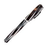 Перьевая ручка Visconti Divina Elegance Medium коричн сер 925 пал 23 (VS-267-71M)
