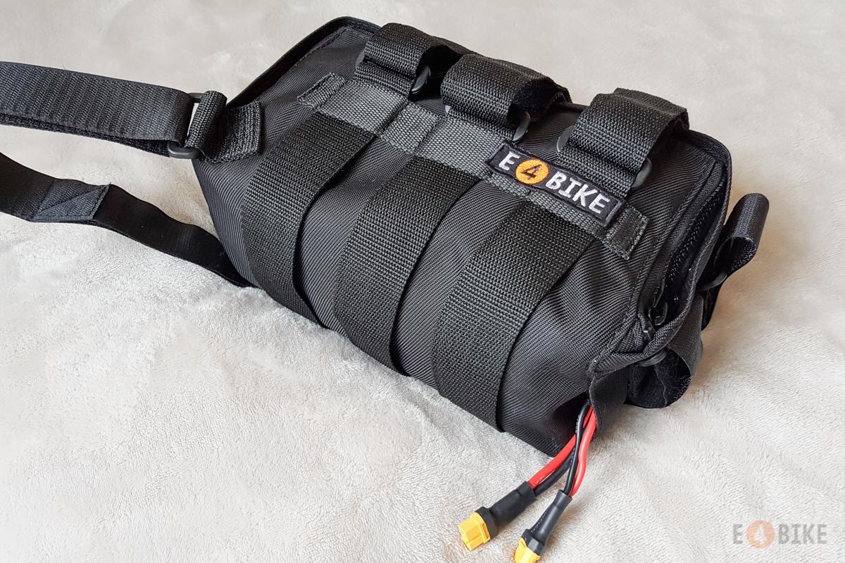 Сумка для крепления батареи и контроллера