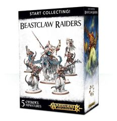 Start Collecting! Beastclaw Raiders. Коробка