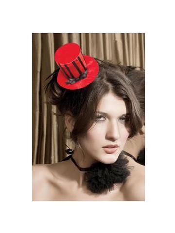 Шляпа вампира красный 02511OS