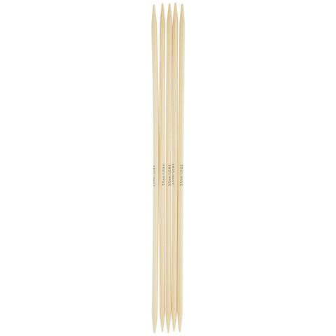 Спицы для вязания Addi чулочные, бамбуковые, 20 см, 4 мм
