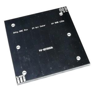 NeoPixel 8x8 (аналог) - матрица из 64 RGB-светодиодов WS2812B