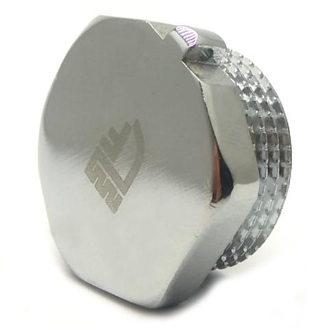Заглушка SD Forte  латунная хромированная  3/4 н