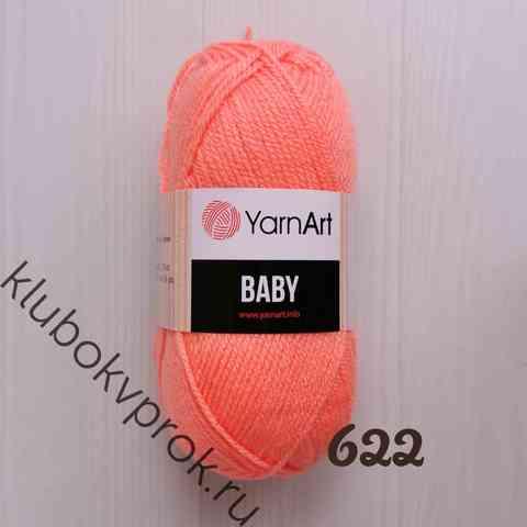 YARNART BABY 622, Персик