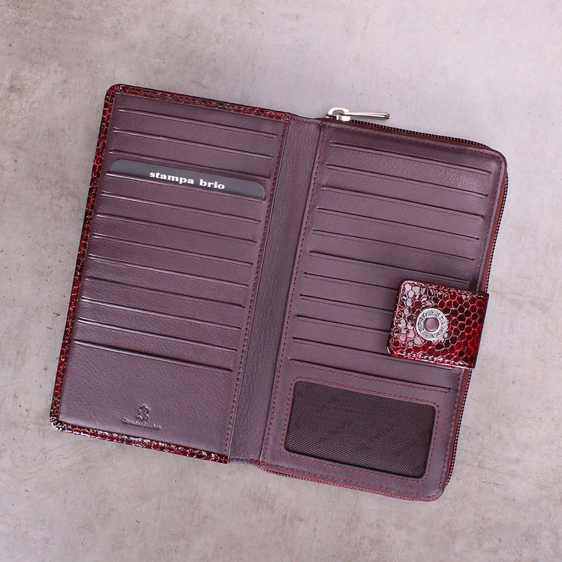933 R - Портмоне-клатч с RFID защитой