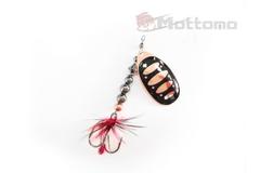 Блесна Mottomo Fire Blade #1 5g Copper 31