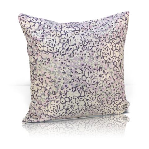 Подушка декоративная Спейс розово-сиреневый