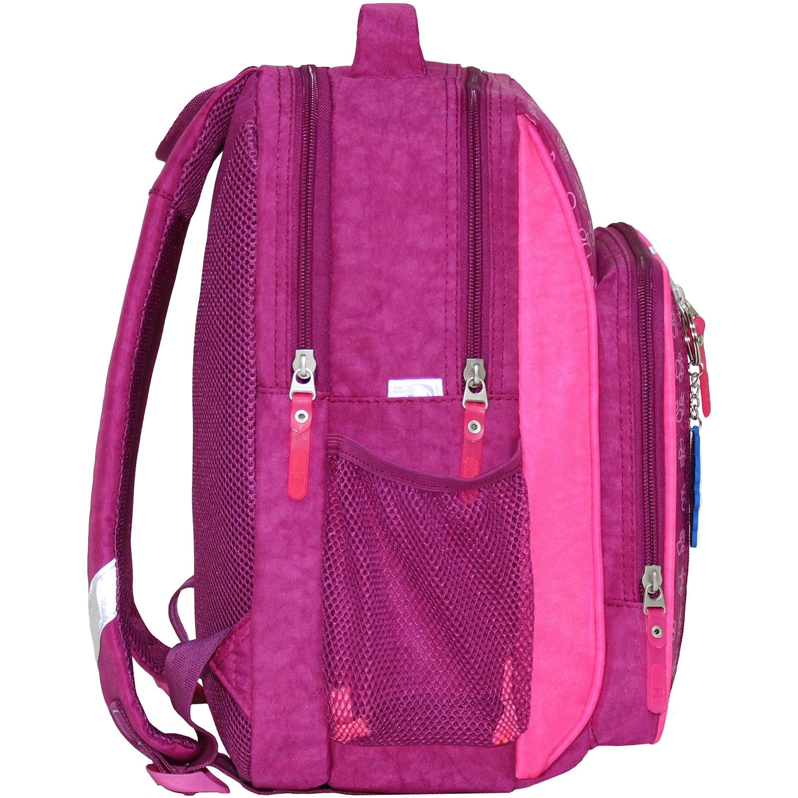 Рюкзак школьный Bagland Школьник 8 л. 143 малиновый 18д (0012870)