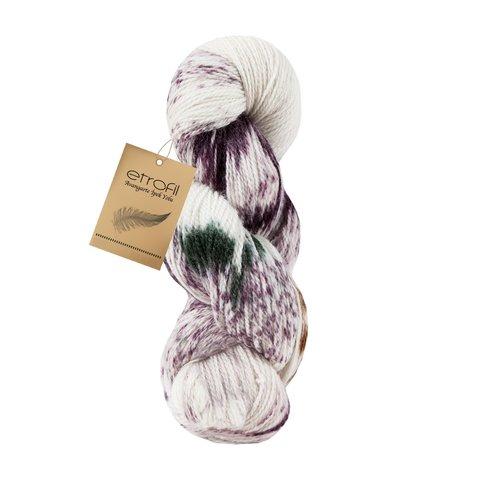 Silk Road ETROFIL (90% шерсть мериноса, 10% шелк ручного окрашивания , 100 гр/400 м)