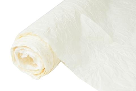 Бумага жатая эколюкс 70см х 5м кремовая 28
