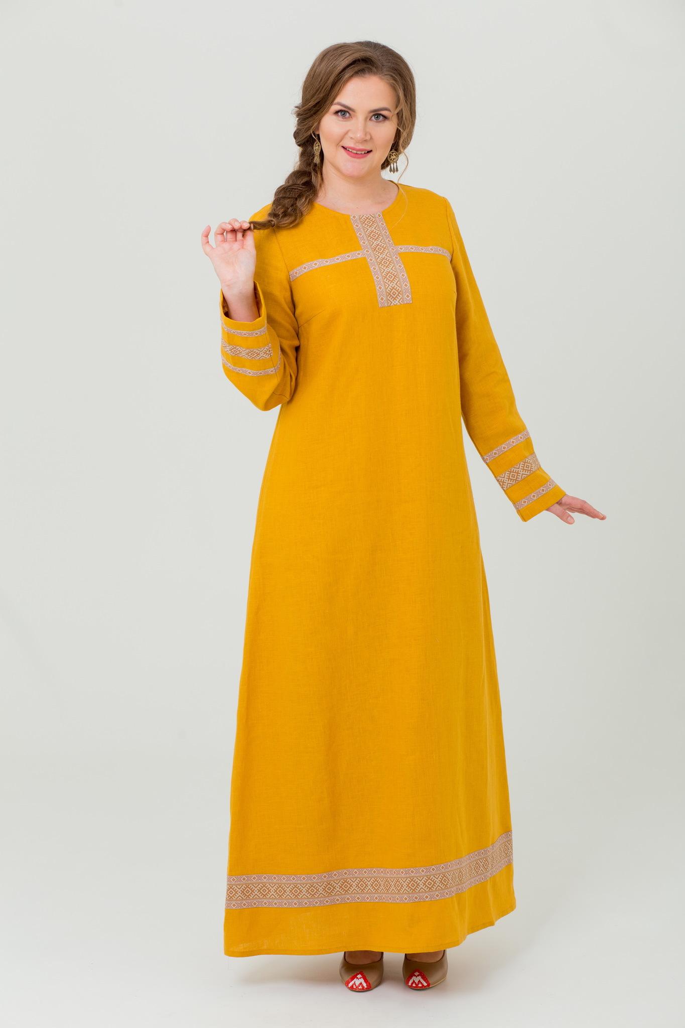 Платье народное Горицвет