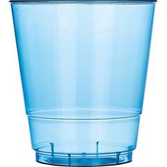 Стакан одноразовый Стандарт пластиковый синий 200 мл 50 штук в упаковке