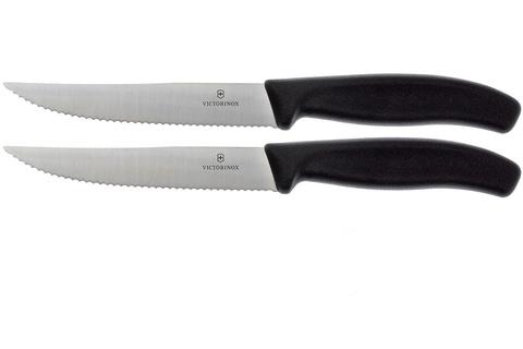 Набор ножей кухон. Victorinox Swiss Classic (6.7933.12B) компл.:2шт черный блистер