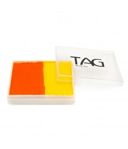 Аквагрим TAG 50 гр желтый/оранжевый