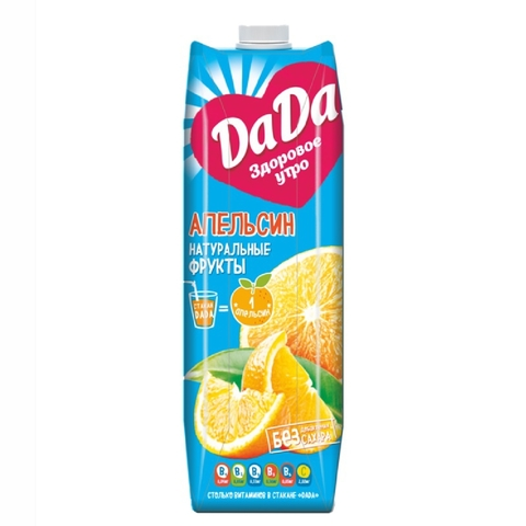 Сок DA-DA Апельсин 0,95 л КАЗАХСТАН